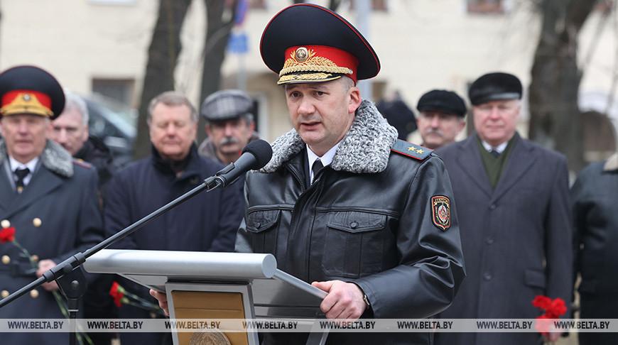 Кубраков: белорусская милиция готова к любым вызовам и угрозам
