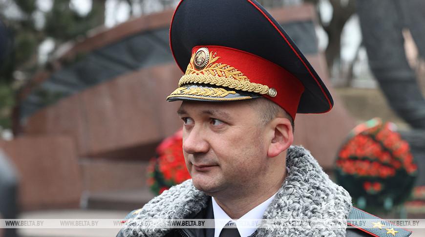 Иван Кубраков во время церемонии