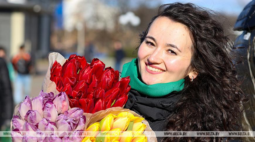 8 марта в Беларуси - День женщин