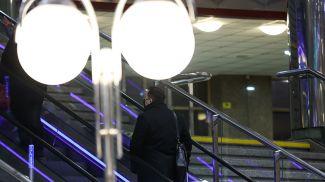 На вокзале. Фото из архива