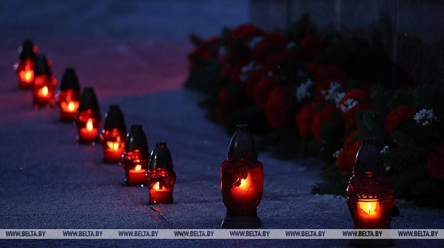 Всебелорусская молитва о мире состоялась в мемориальном комплексе 'Хатынь'