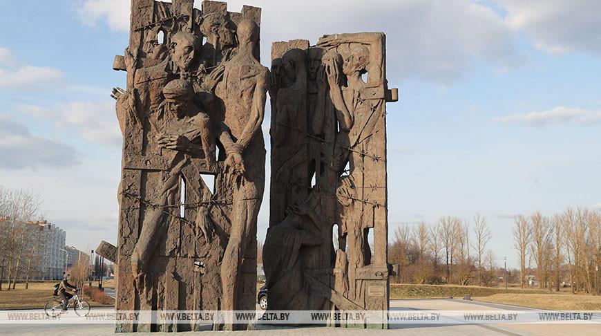 """В мемориальном комплексе """"Тростенец"""". Фото из архива"""