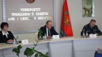 Во время конференции. Фото ucp.by