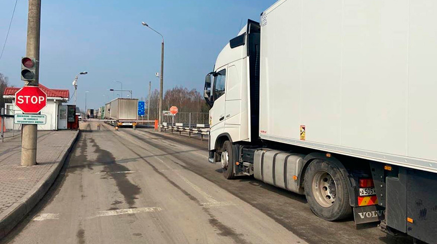 ГПК: у белорусско-литовской границы выезда в ЕС ожидают около 750 грузовиков