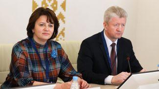Елена Богдан и Анатолий Маркевич