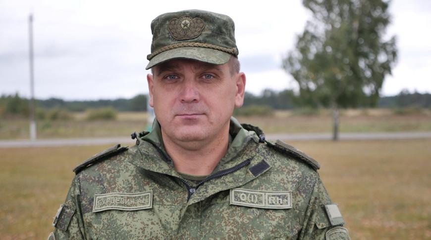 Андрей Гурцевич. Фото МО РБ