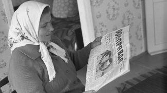Мать летчика-космонавта СССР Владимира Коваленка – Ольга Ивановна. 17 июня 1978 года