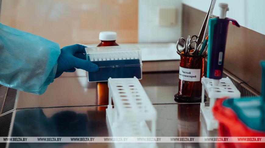 За сутки в Беларуси зарегистрированы 896 пациентов с коронавирусом, выписаны 649.