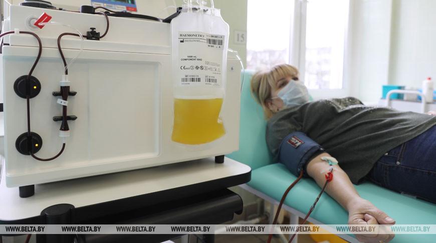 Вакцинированные от COVID-19 белорусы смогут стать донорами плазмы.
