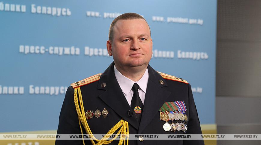 Начальником УВД Гродненского облисполкома назначен Дмитрий Резенков.