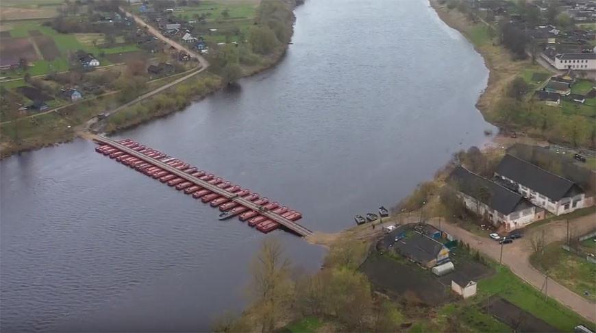Скриншот из видео ВоенТВ Беларуси