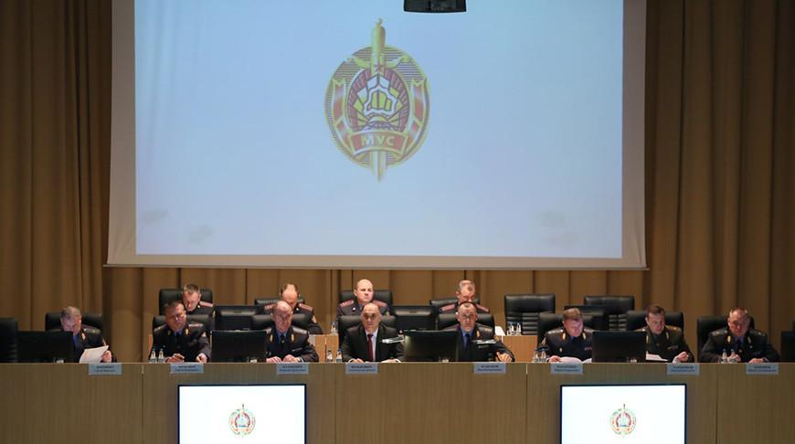 Во время заседания. Фото МВД