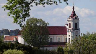 Францисканский костел в Гродно. Фото из архива