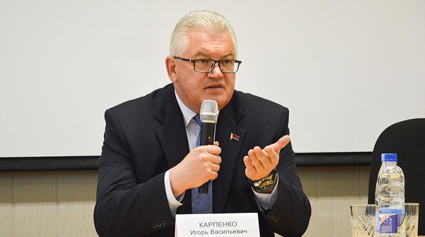 Игорь Карпенко. Фото vstu.by