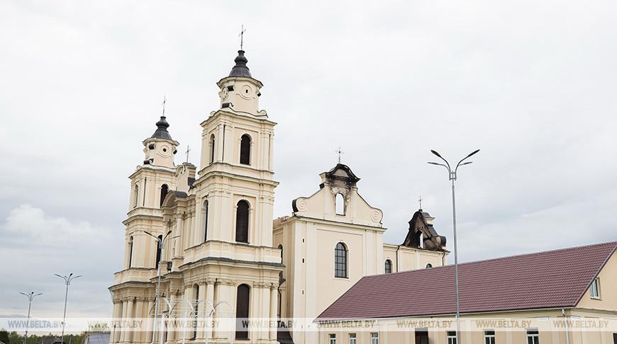 Турчин поручил разработать проект временной кровли для костела в Будславе