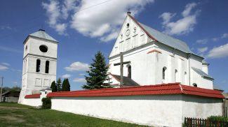 Римско-католический костел Святой Троицы 16 века в деревне Чернавчицы. Фото из архива