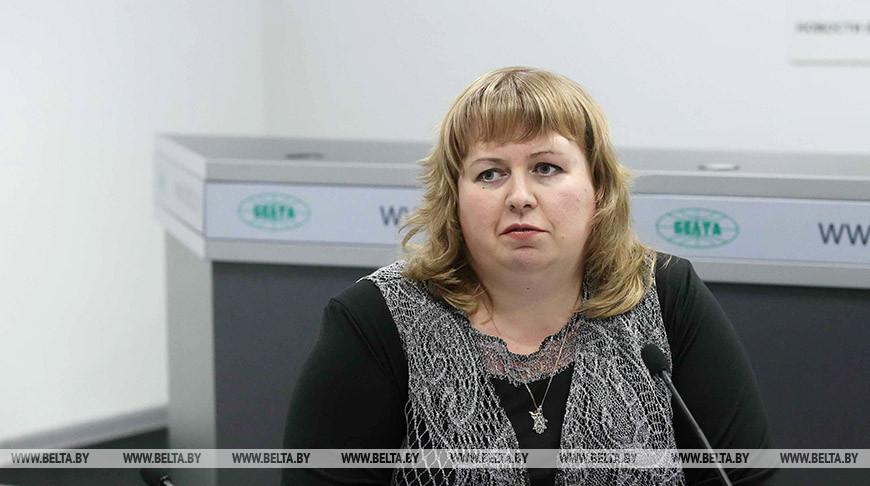 Елена Мулица. Фото из архива