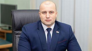 Максим Гурин. Фото с сайта Могилевского городского совета депутатов