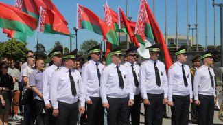 Во время торжественного открытия. Фото УГАИ ГУВД Мингорисполкома