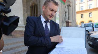 Заместитель генерального директора по идеологической работе и кадрам Андрей Семенюга