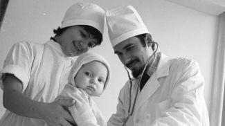 Центр детской хирургии в Минске, 1977 год