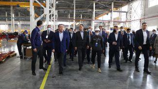 Роман Головченко во время визита в Казахстан