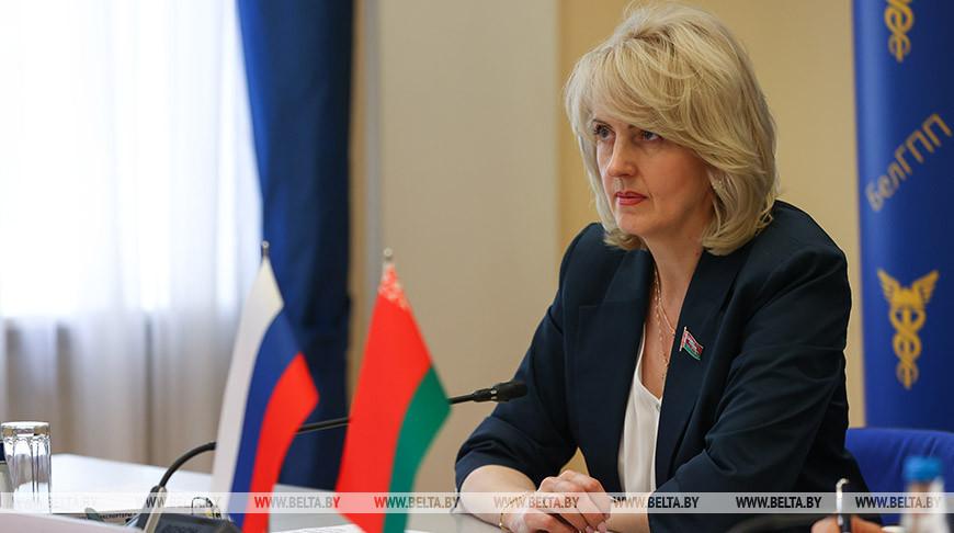 Татьяна Рунец во время заседания