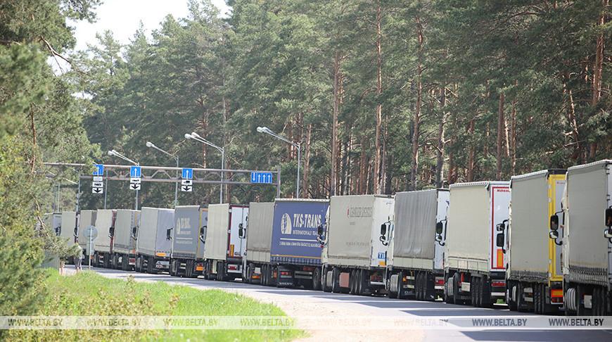 В очереди на выезд из Беларуси в ЕС скопилось более 1110 фур