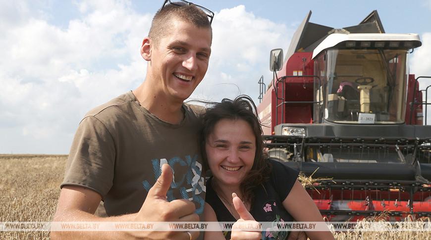 Евгений Шевчук и Ангелина Андрейковец