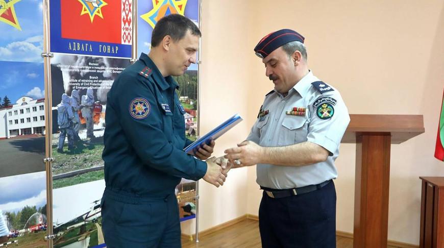 Специалисты из Иордании повысили квалификацию на базе центра подготовки спасателей в Беларуси