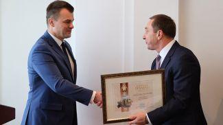 Олег Слижевский и Николай Снопков