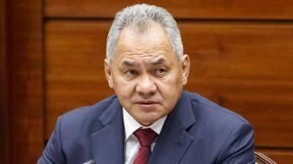 Сергей Шойгу. Фото пресс-службы Минобороны РФ/ТАСС