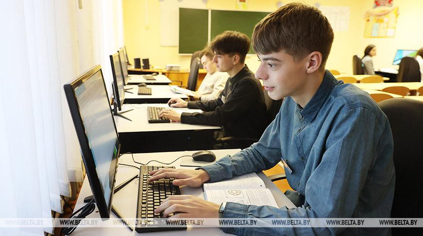В новом компьютерном классе