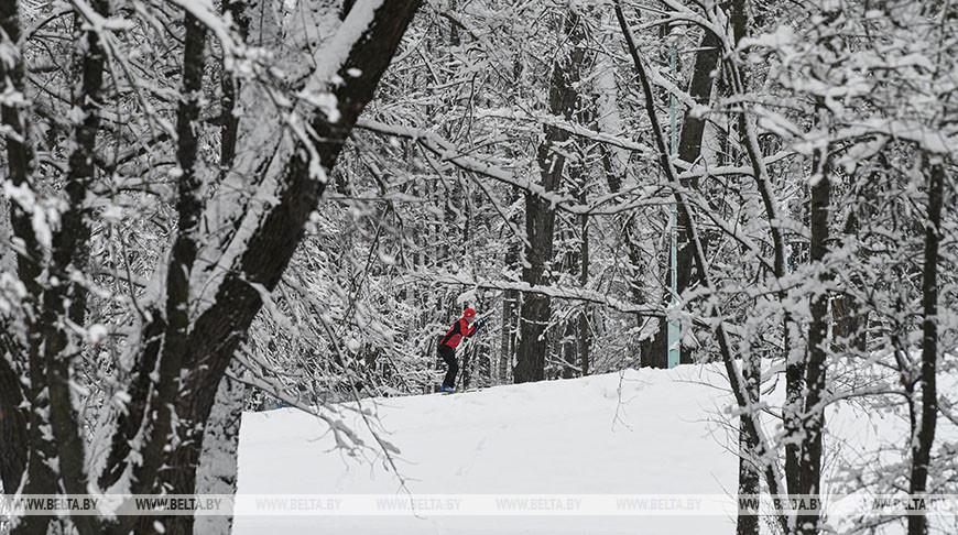 Брестской области в морозы планируют залить катки и проложить лыжные трассы