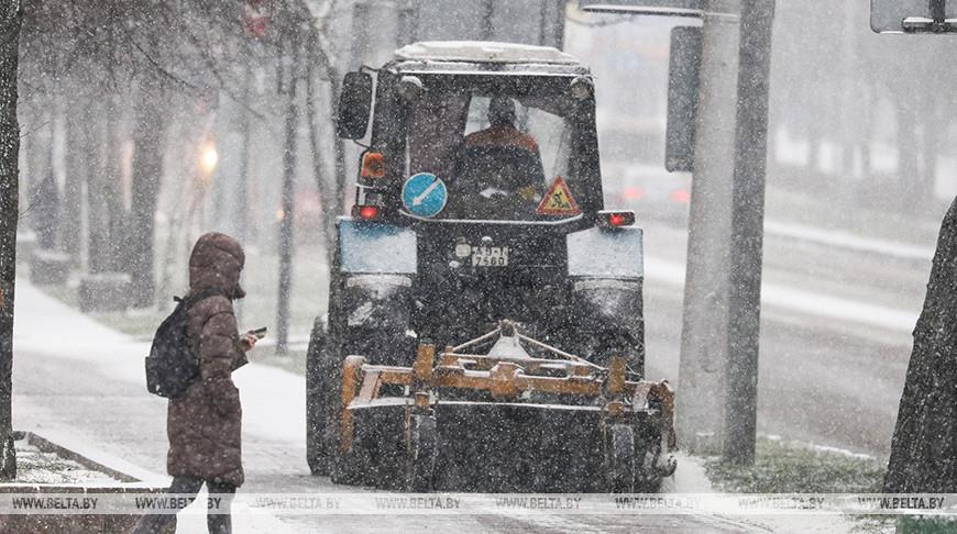 Сильные морозы не повлияли на работу народно-хозяйственного комплекса Брестской области