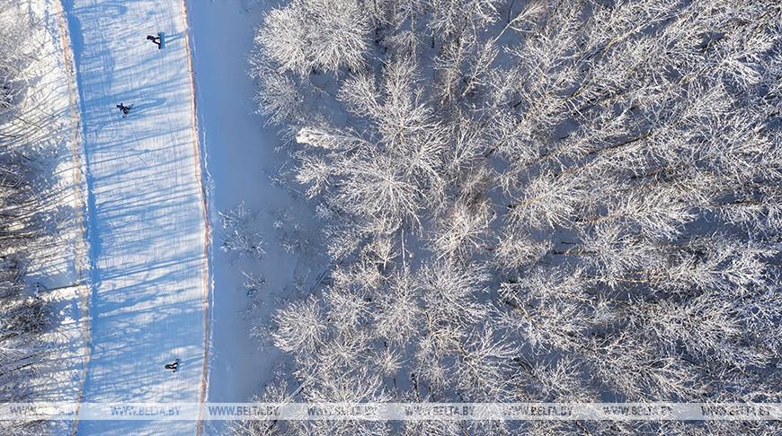 """Зимний отдых в горнолыжном курорте """"Логойск"""""""