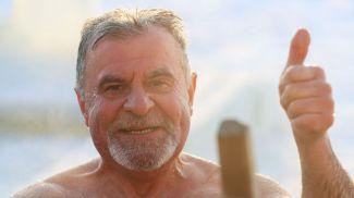Председатель Белорусской федерации закаливания и спортивного зимнего плавания Владимир Шульган