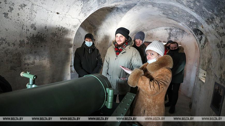 Музейную экспозицию открыли в Пятом форту Брестской крепости