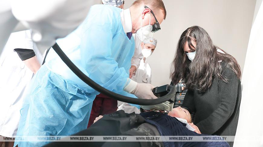Во время операции по удалению рубца