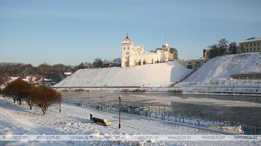 Старый замок в Гродно. Фото из архива