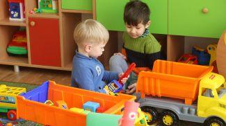 В новом детском саду