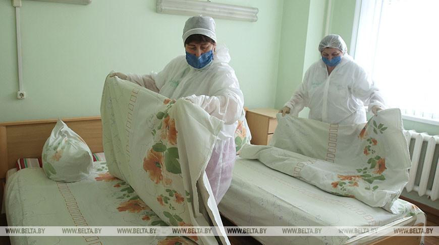 На Гродненщине идет перепрофилирование коек, подготовленных для ковидных пациентов.