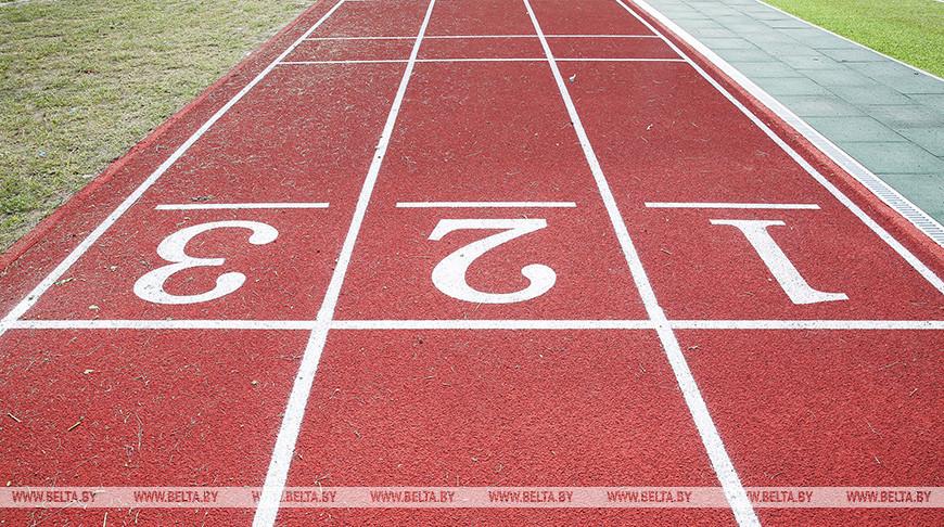 В Пинском районе реконструируют стадион спортшколы