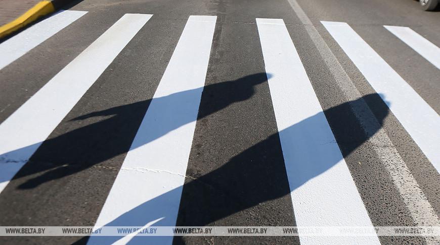 Профилактическая акция 'Пешеход' проходит в Минской области