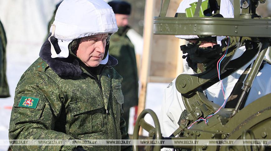 Председатель Витебского облисполкома Николай Шерстнев