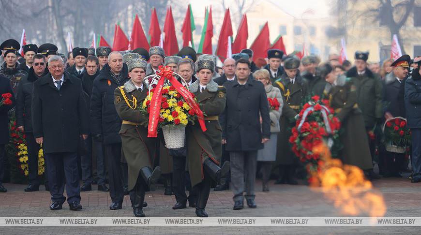 Торжественные мероприятия ко Дню защитников Отечества прошли в Гродно