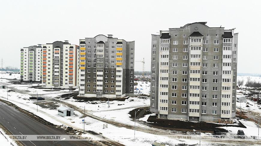 Новые жилые дома в микрорайоне Север
