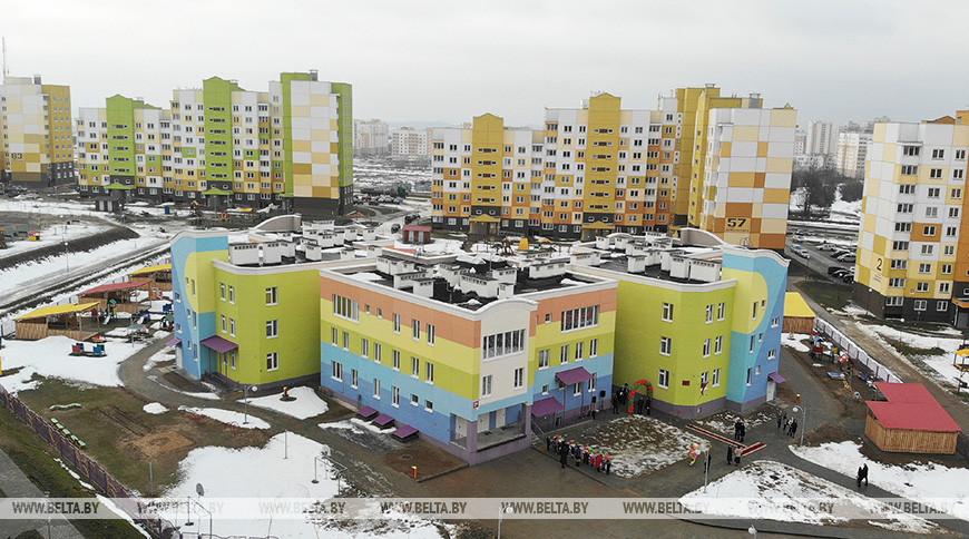 Новый детский сад на 230 мест торжественно открыли сегодня в молодом районе Гродно