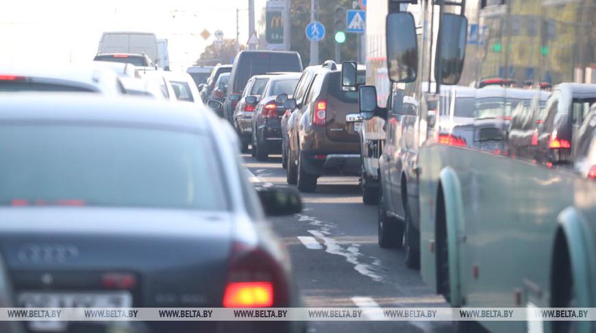 В шести местах Минска сегодня работают мобильные датчики контроля скорости