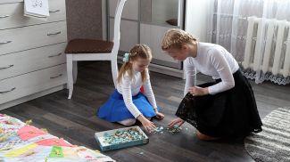 Софья Пантелеева и Александра Хилькевич в обновленном доме